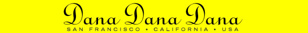 Dana Dana Dana Limited Editions in San Francisco California logo